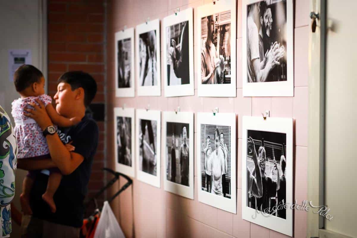 Tai Chi Chuan Yang   photography of the exhibition Silvia Cingano